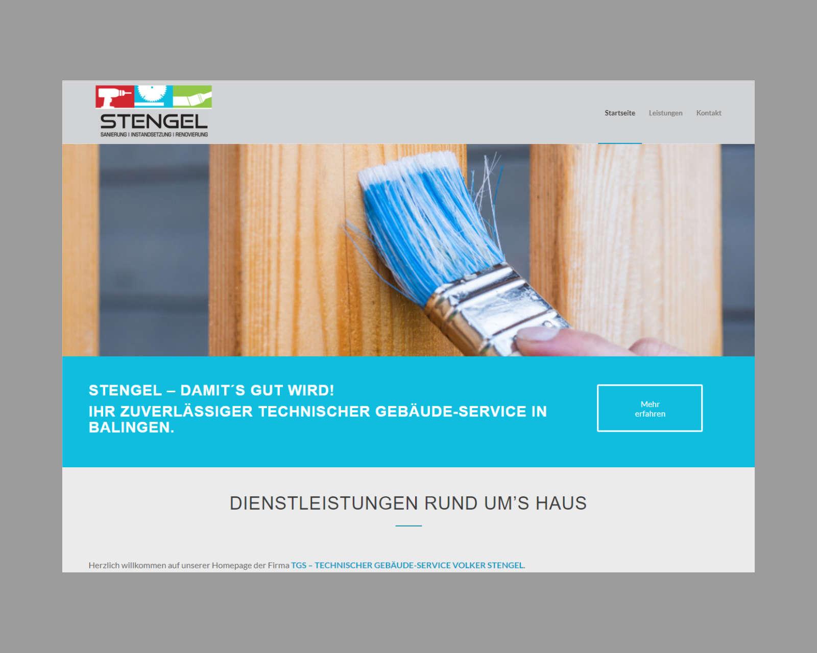 Website www.tgs-stengel.de