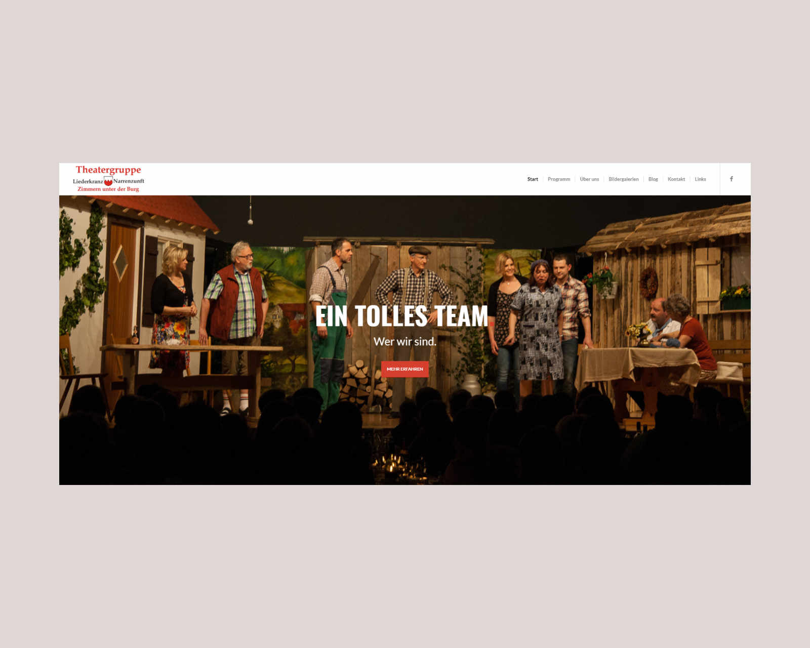 Website www.theater-zimmern.de